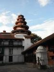 Temple in Kathmandu, 2012