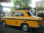 Yellow taxi, Kolkata (2013)