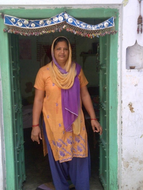 Shahpur Jat Lady of the House