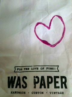 was paper