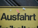 "GERMANY, Munich - In English it sounds like ""Ass Fart"""